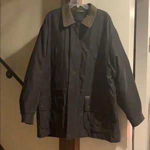 Weatherproof collard navy parka